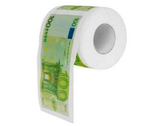 100€ Klopapier