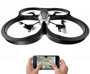 Auadcopter mit Kamera für iPhone