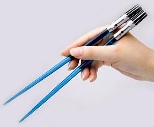 Star Wars Lichtschwerter Esstaebchen