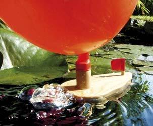 Luftballon Knatterboot