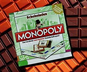 Schokoladen Monopoly