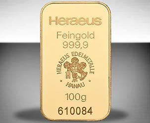 Goldbarren-100gramm