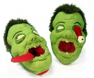 Zombie Plüsch Schuhe
