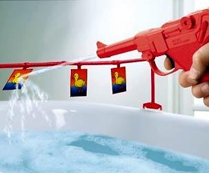 Badezimmer Entenjagen
