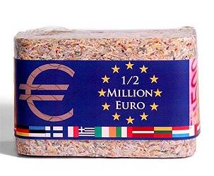 Eine halbe Millionen Euro