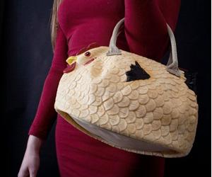 Huhn-Handtasche