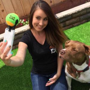 Selfie mit Hundi