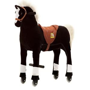 Rollendes Pferd