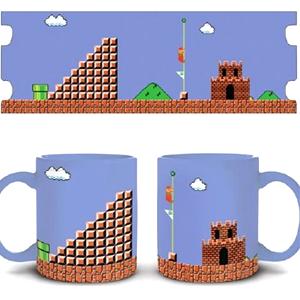 Super Mario Tasse mit Tage-Clear Sound